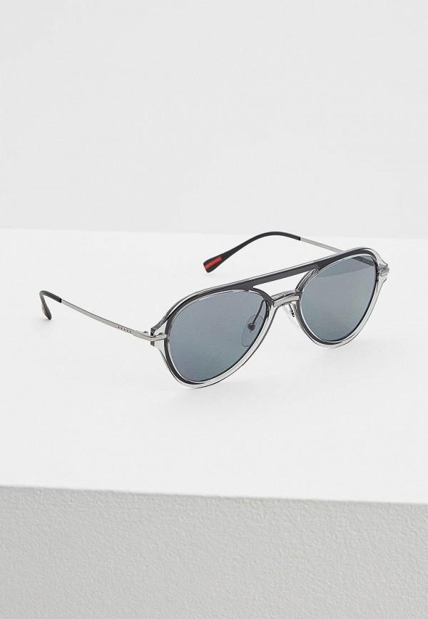 Очки солнцезащитные Prada Linea Rossa Prada Linea Rossa PR044DMATBD0 очки солнцезащитные prada linea rossa prada linea rossa pr044dmzbb03