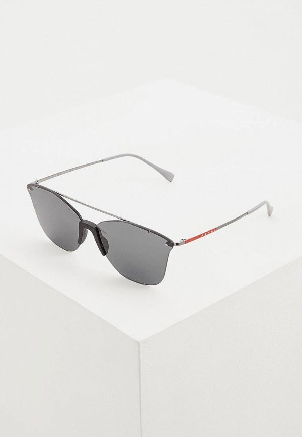 Очки солнцезащитные Prada Linea Rossa Prada Linea Rossa PR044DMDBJS8 брюки prada linea rossa