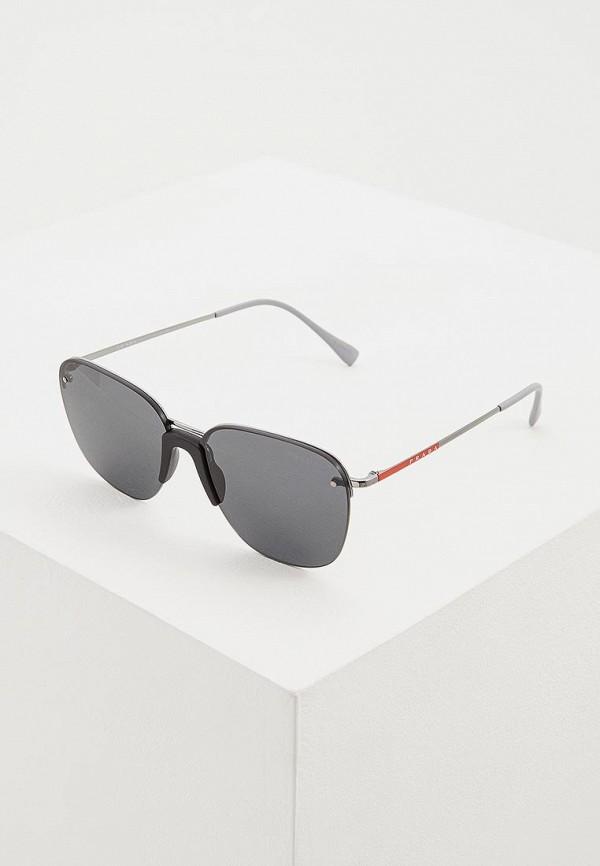 Очки солнцезащитные Prada Linea Rossa Prada Linea Rossa PR044DMDBJT3 очки солнцезащитные prada linea rossa prada linea rossa pr044dmozl41