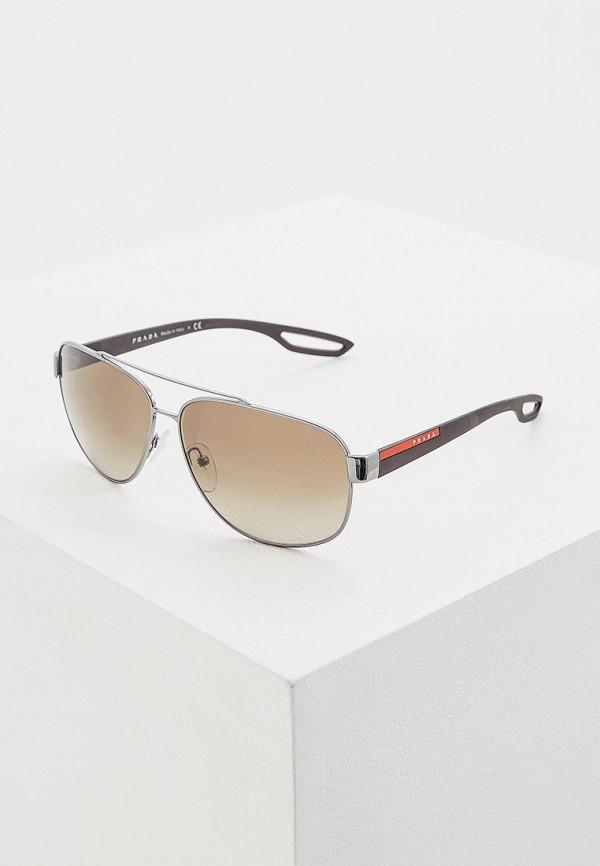 Очки солнцезащитные Prada Linea Rossa Prada Linea Rossa PR044DMDBJU2 очки солнцезащитные prada linea rossa prada linea rossa pr044dmozl41