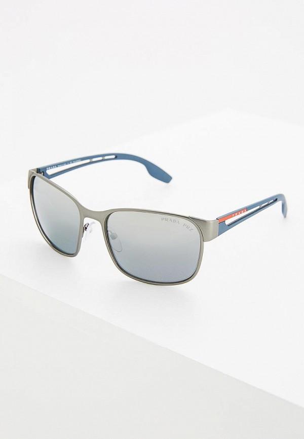 Очки солнцезащитные Prada Linea Rossa Prada Linea Rossa PR044DMZBB03 очки солнцезащитные prada linea rossa prada linea rossa pr044dmzbb03