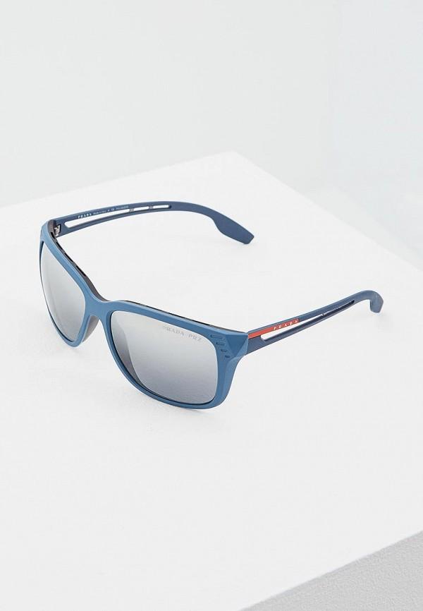 Очки солнцезащитные Prada Linea Rossa Prada Linea Rossa PR044DMZBB04 цена 2017