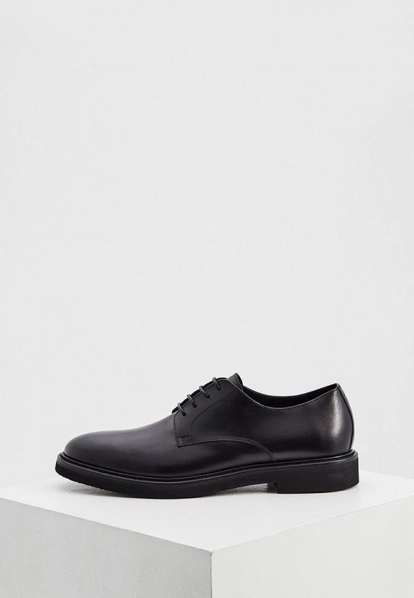 мужские туфли principe di bologna, черные
