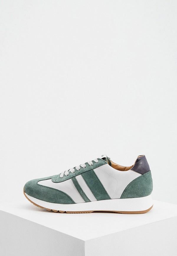 мужские кроссовки principe di bologna, зеленые