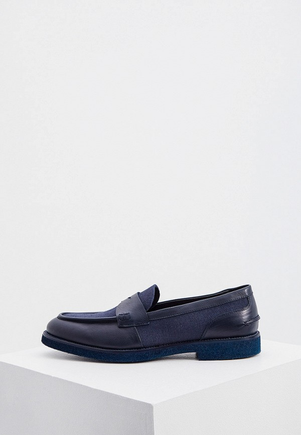 мужские лоферы principe di bologna, синие