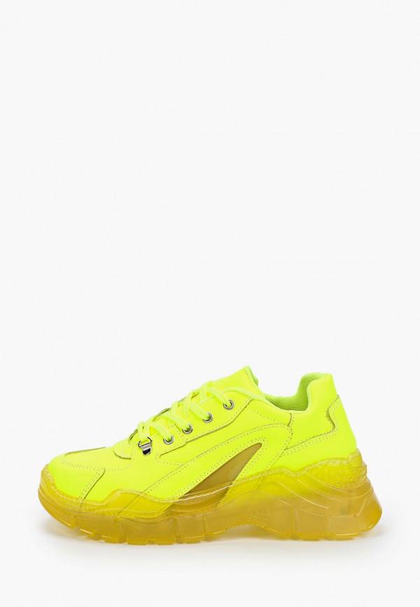 женские кроссовки principe di bologna, желтые