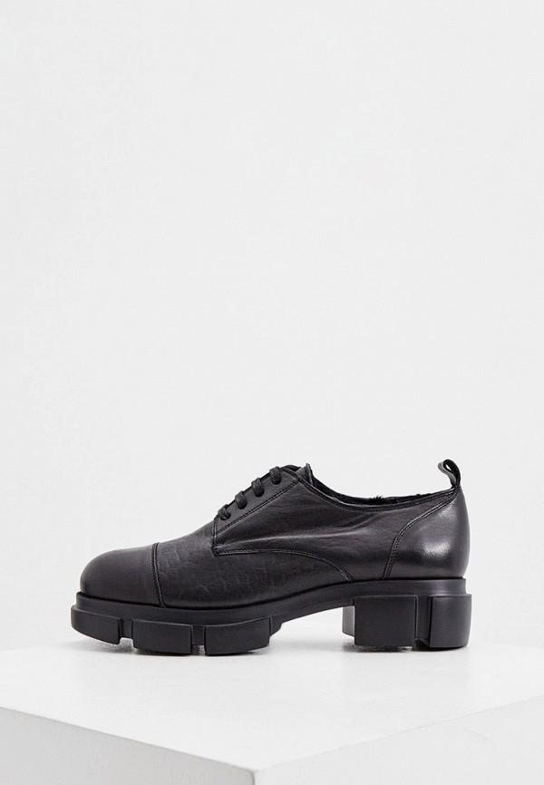женские ботинки principe di bologna, черные