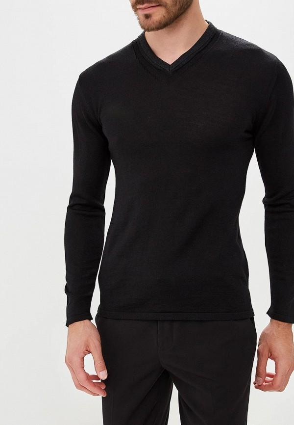 Пуловер  черный цвета