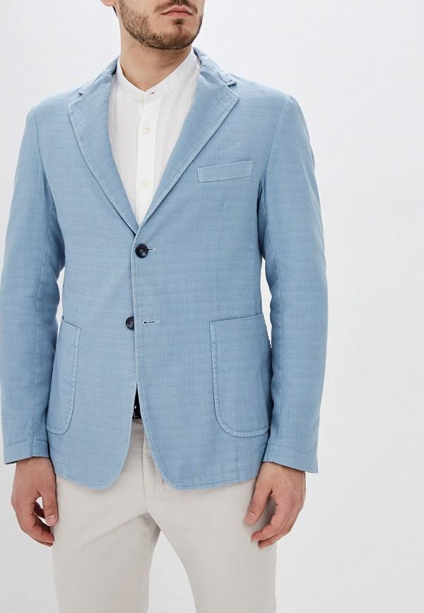 мужской пиджак primo emporio, голубой