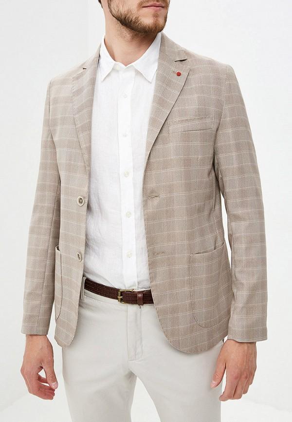 мужской пиджак primo emporio, бежевый
