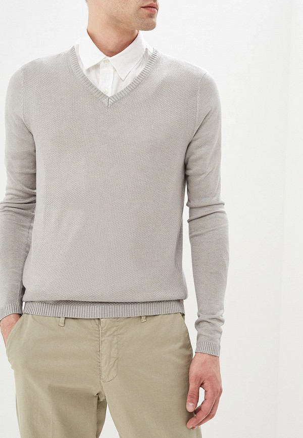 мужской пуловер primo emporio, серый