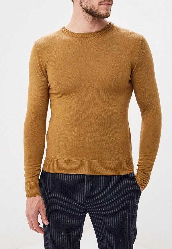 мужской джемпер primo emporio, коричневый