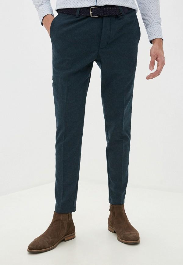 мужские повседневные брюки primo emporio, бирюзовые