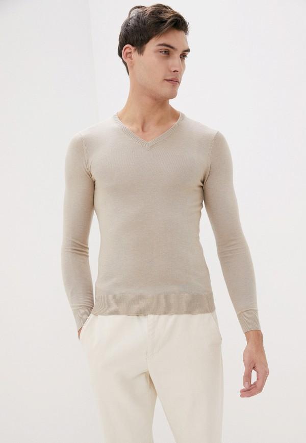 мужской пуловер primo emporio, бежевый