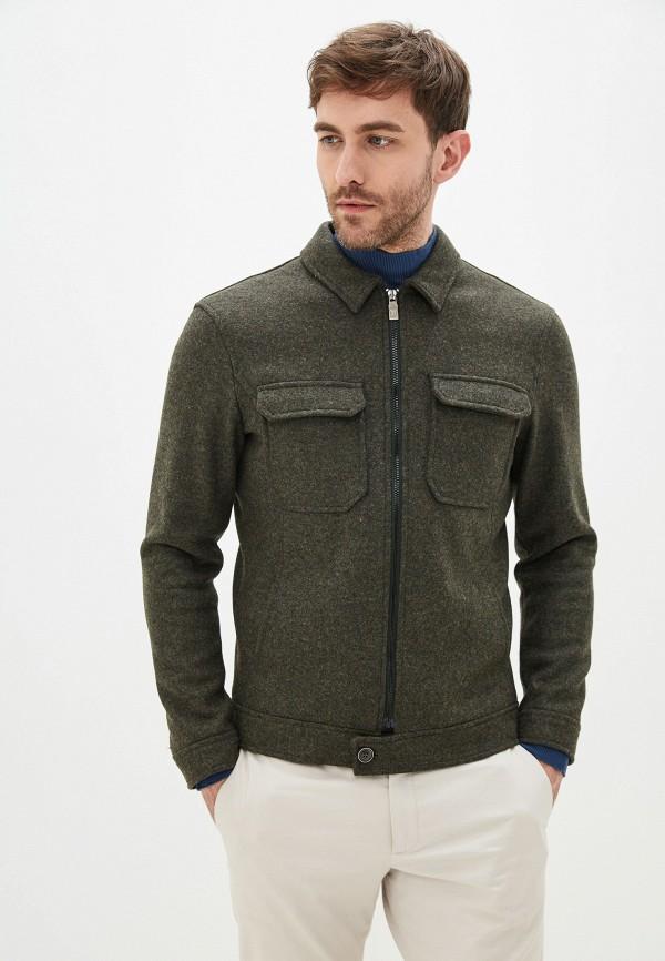 мужское пальто primo emporio, зеленое