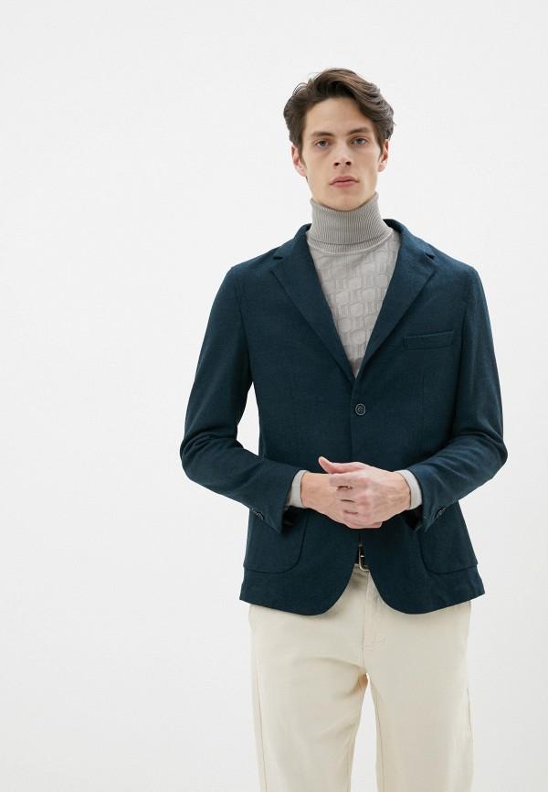 мужской пиджак primo emporio, зеленый