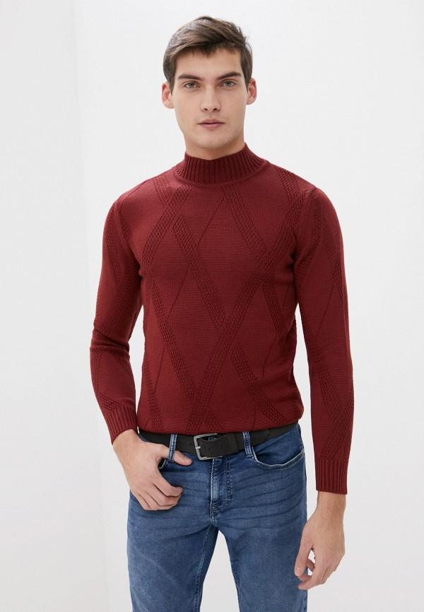 мужской свитер primo emporio, бордовый