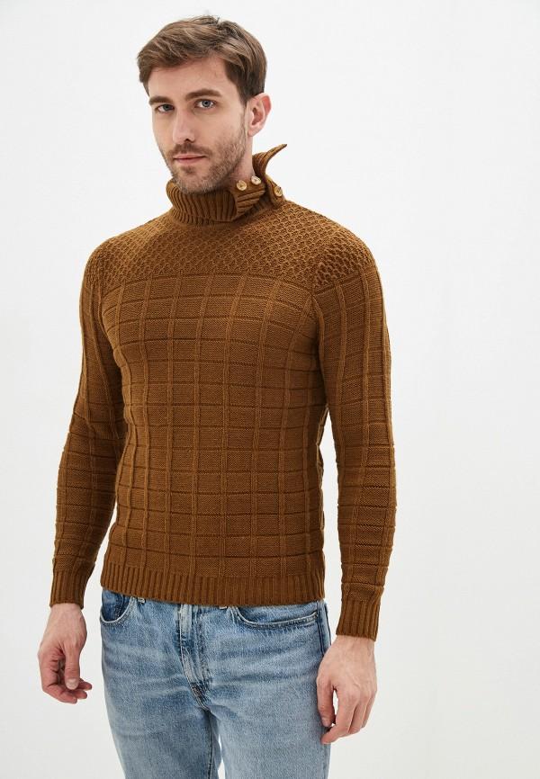 мужской свитер primo emporio, коричневый