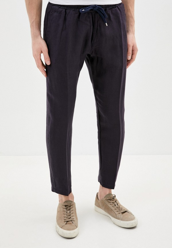 мужские зауженные брюки primo emporio, синие