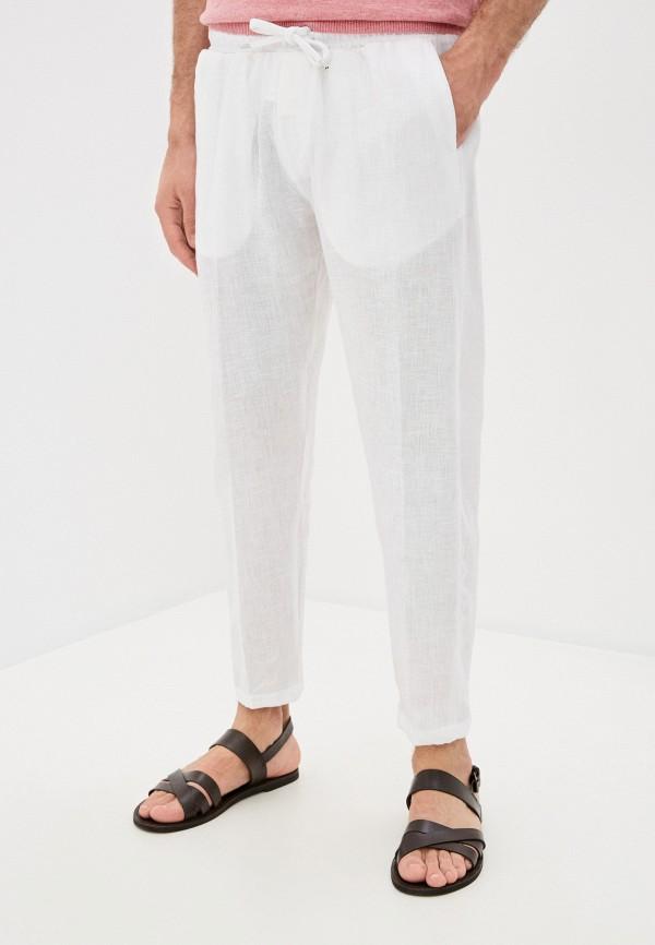 мужские повседневные брюки primo emporio, белые