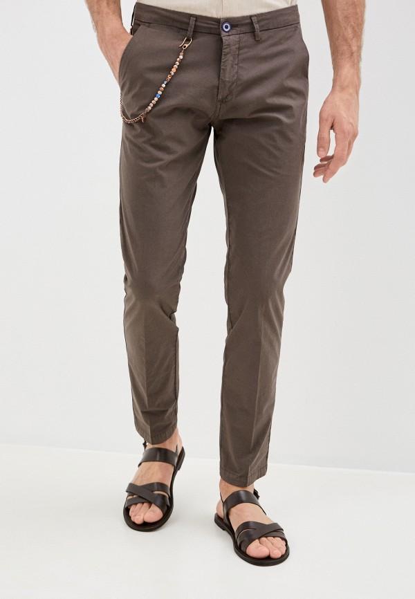 мужские повседневные брюки primo emporio, коричневые