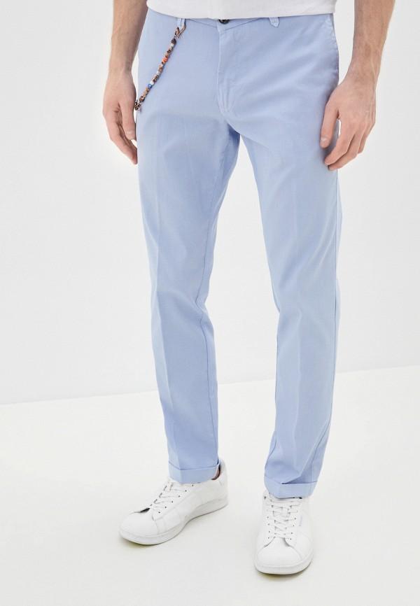 мужские повседневные брюки primo emporio, голубые