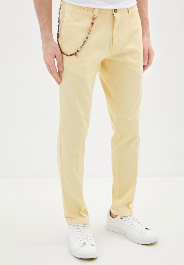 мужские повседневные брюки primo emporio, желтые