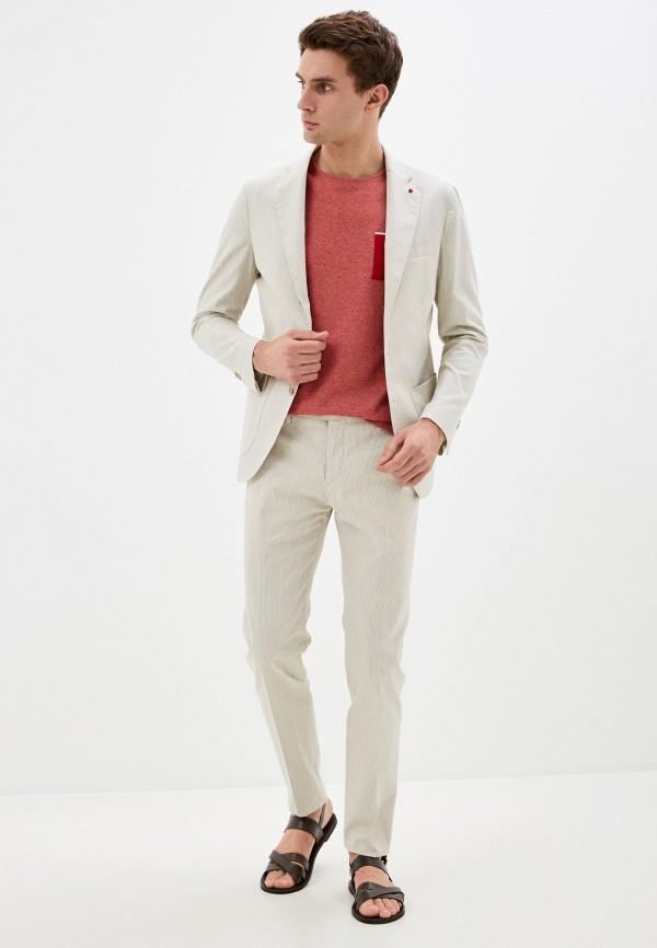 мужской костюм primo emporio, серый