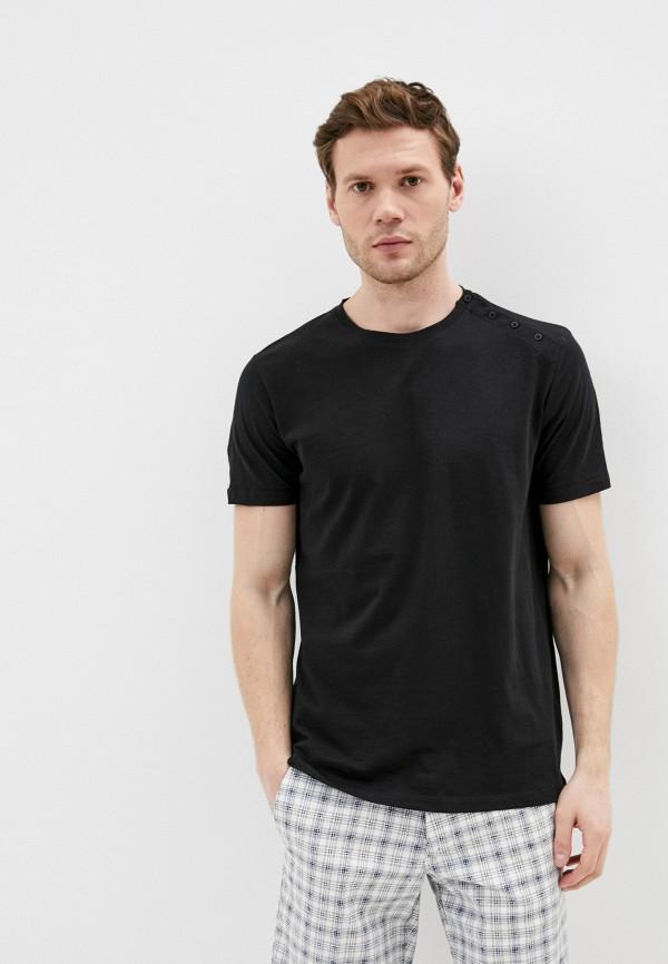 мужская футболка primo emporio, черная
