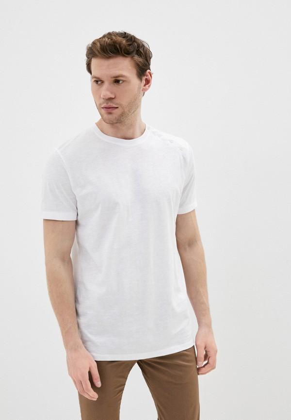 мужская футболка primo emporio, белая