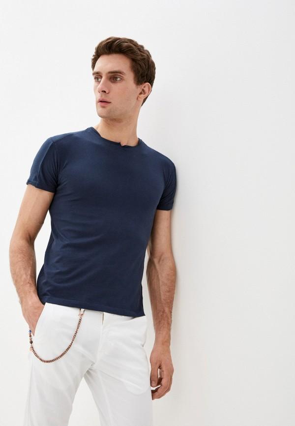 мужская футболка primo emporio, синяя