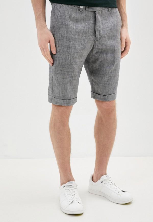 мужские повседневные шорты primo emporio, серые
