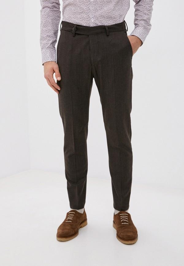 мужские классические брюки primo emporio, коричневые