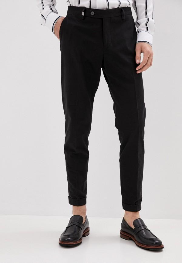 мужские зауженные брюки primo emporio, черные