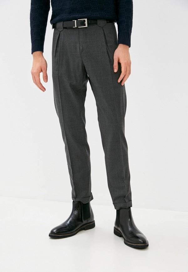 мужские классические брюки primo emporio, серые