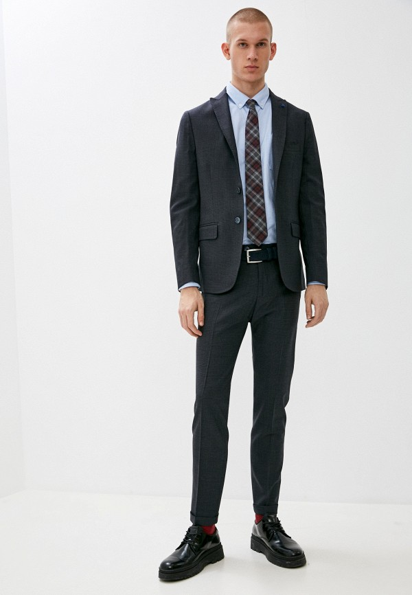 мужской костюм primo emporio, синий