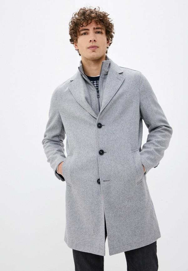 мужское пальто primo emporio, серое