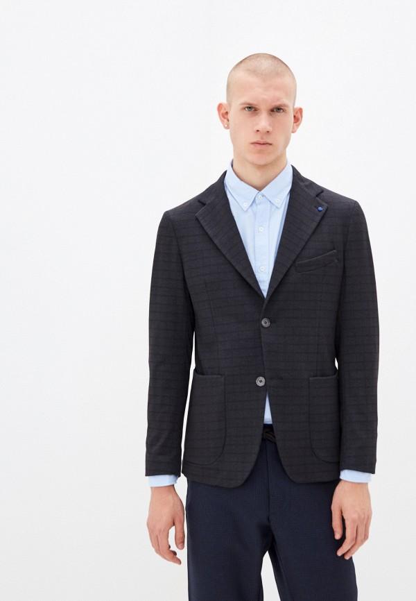 мужской пиджак primo emporio, серый
