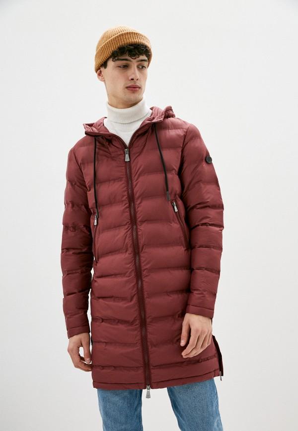 мужская куртка primo emporio, бордовая