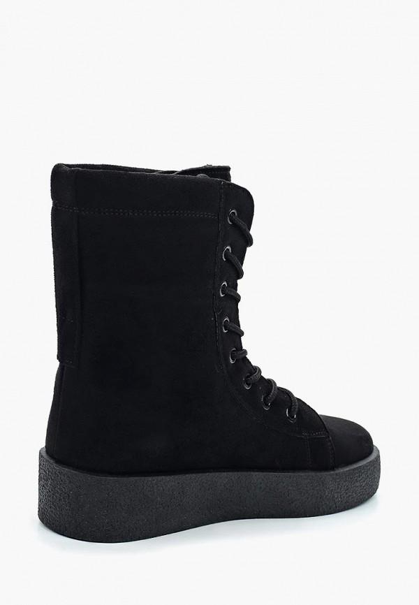 Фото 2 - женские ботинки и полуботинки PTPT черного цвета