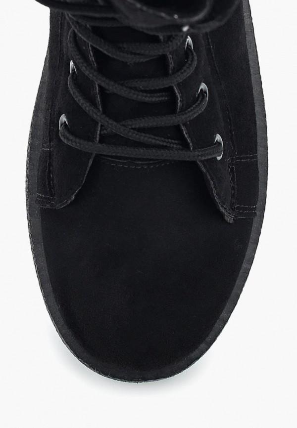 Фото 4 - женские ботинки и полуботинки PTPT черного цвета