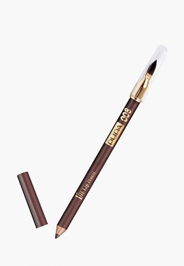 карандаш для губ pupa, фиолетовый
