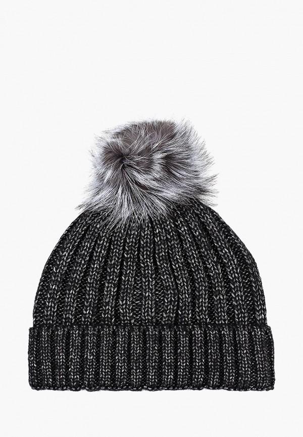 женская шапка pur pur, черная