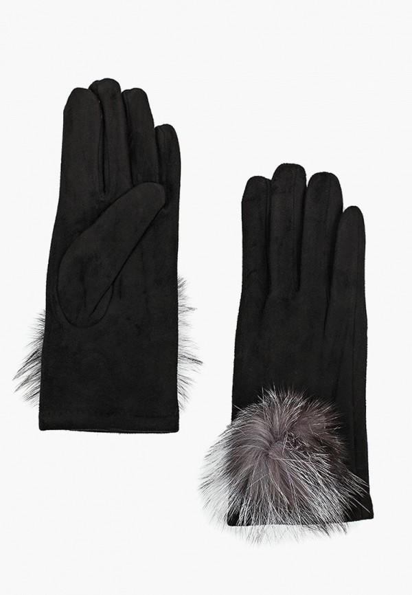 Перчатки Pur Pur, pu007dwczou7, черный, Осень-зима 2018/2019  - купить со скидкой