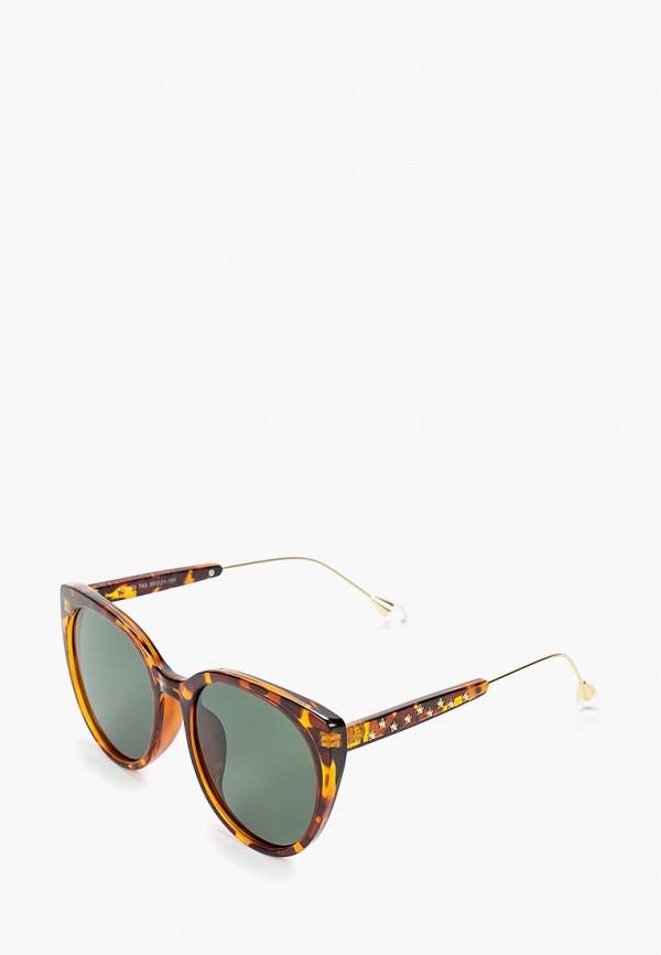женские солнцезащитные очки pur pur, коричневые