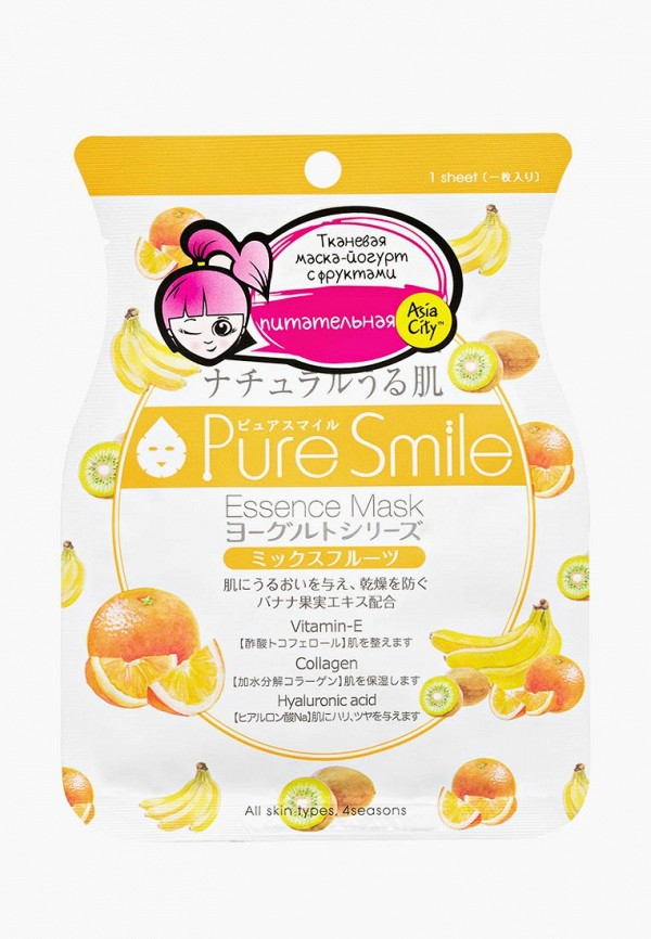 Маска для лица Pure Smile Pure Smile PU009LWDTFV3 чайник smile wk5114