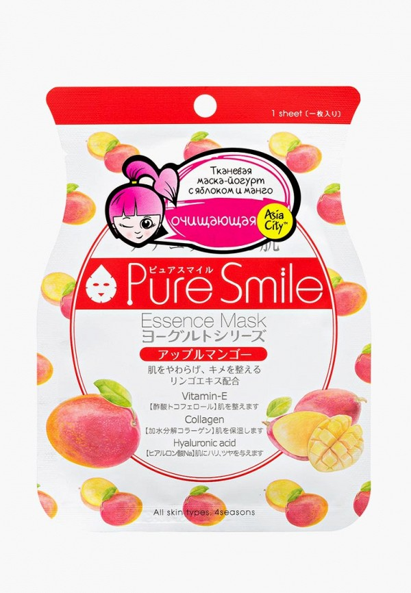 Маска для лица Pure Smile Pure Smile PU009LWDTFV4 smile wk5306