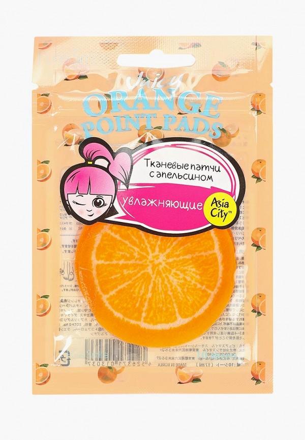 Купить Патчи для глаз Pure Smile, увлажняющие кожу с апельсином 10 шт, pu009lwdtfv8, оранжевый, Весна-лето 2019