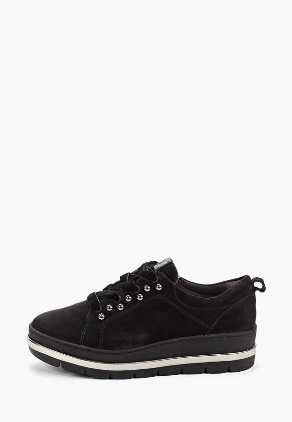 женские кроссовки pure relax by tamaris, черные