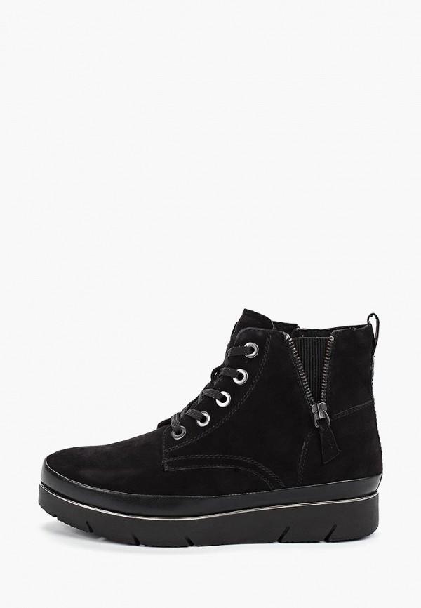 женские ботинки tamaris pure relax, черные